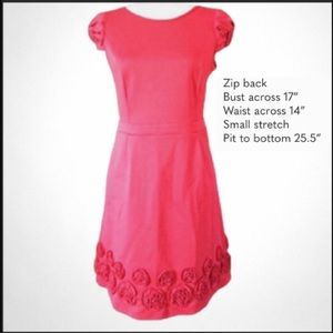 Red laundry by design 8 dress